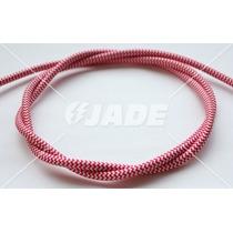 Cable Eléctrico Textil Vintage Rojo/blanco