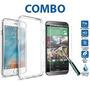 Combo Cristal Templado + Funda Crystal Moto X Play Xt1563
