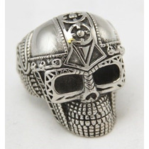 Anillo Calavera Acero Inoxidable Bikers/rock/punk