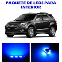 Chevrolet Equinox 2010 2015 Paquete De Led Interior Kit Azul
