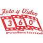 Videofilmaciones Y Fotograf�a 360� Mejor Precio  Hd $2,200