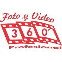 Videofilmaciones Y Fotografía 360° Mejor Precio Hd $2,200