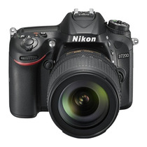 Camara Digital Reflex Nikon D7200 Kit 18-105mm 24.2 Full Hd