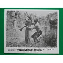 Vuelven Los Campeones Justicieros Lucha Libre Foto Original