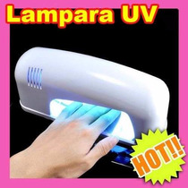 Lampara Uv Para Uñas 9w Acrilico Gel Decoracion Finish L2