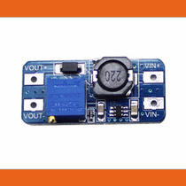 Boost Elevador Voltaje 2v A To 28v Arduino Pic Led Pot