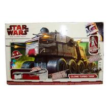 Star Wars Clone Turbo Tank Hasbro Esc 3 3/4 Nuevo Sellado