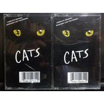 Cats Broadway Cast Recording. 2 Cassettes Usados Ed 1983 Usa