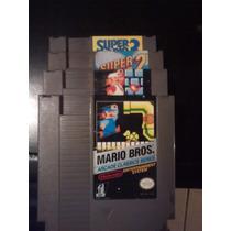 Trilogia Super Mario Bros 3 Coleccion Juegos Nintendo Nes