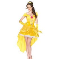 Disfraz Princesa Bella Y Bestia Sexy Halloween Y Envio