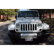 Jeep Wrangler Unlimit Sahara 4x4 Aut 2013 Toldo Duro Y Suave