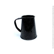 Tarro Conico Peltre Negro Brillante 750 Ml