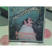 Disco Lp De Acetato Vicente Fernandez, 8 Discos
