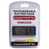 Batería Pila Recargable 2000mah Nintendo Dsi Xl + Desarmador