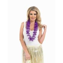 Disfraz Hawaiano - Púrpura Garland Temáticas Hula Gallina
