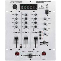 Caja Mezcladora Behringer Dx-626 Djpro 3 Canales Control Vca