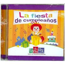 Cd Fiesta De Cumpleaños Vol 8 Niños 6m Est. Temprana Trepsi