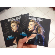 Britney Live In Miami Onyx Hotel Cd Original