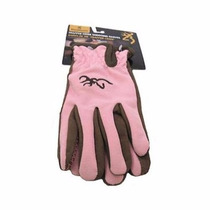 Jh Guantes Browning Trapper Creek Glove, Brown/pink