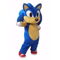 Botarga Disfraz Sonic The Hedgehog Talla Adulto