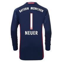 Bayern Munich 2017 Nueva 16/17 Neuer Portero Niño Ls Jers