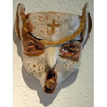 Carlos Rodal Mascara Barro Pintada Arte Guadalajara 1989