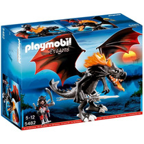 Playmobil 5482 Giant Fighting Dragon With Led-fire!!