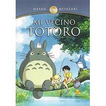 Hayao Miyazaki Mi Vecino Totoro Pelicula Dvd