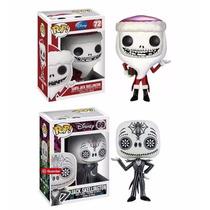 Funko Set 2 Pop Jack Skellington Disney Dia De Muertos Santa