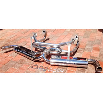Kit Headers Vocho Carburado Araña De Pancho Doble Miller
