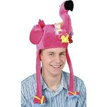 Plush Flamingo Party Hat Accesorios (1 Cargo) (1 / Pkg)