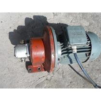 Motor Con Bomba Hidráulica 4 Hp. 440 Volts.