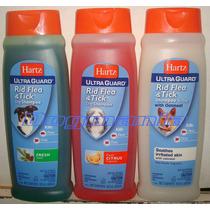 Lote De 12 Shampoo Antipulgas Garrapatas 532ml Hartz Docena