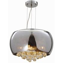Lámpara Colgante Estilo Moderno Cristal Cl