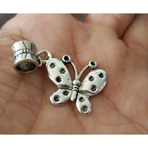 Mariposa 1 Precioso Dije De Plata Tibetana De Mariposa 0377