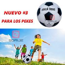Balon Futbol Rapido Molten Pentagono Pf552 N.3 Niños Mayoreo