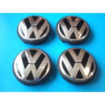 Emblemas Centros De Rin Volkswagen Jetta Beetle Golf Bora