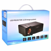 Proyector Led Multimedia Hdmi Usb Vga 1800lumen 45-125 Plg