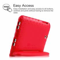 Fintie Samsung Galaxy Tab S2 9.7 Kiddie- Peso Ligero Rojo