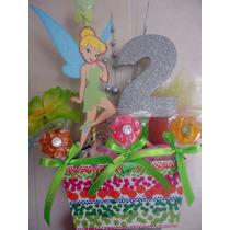 Centro De Mesa Princesa Campanita Tinker Bell Princesas $135