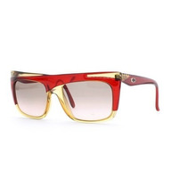 Gafas Christian Dior Brown And Red Authentic Women Vintage