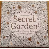Libro Colorear Secret Garden
