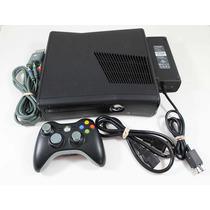 Xbox 360 Slim Rgh + Disco 500gb + 1 Control Y Cables