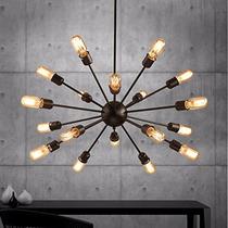 Lampara Vintage 18 Luces Industrial Colgante Edison Bulbo