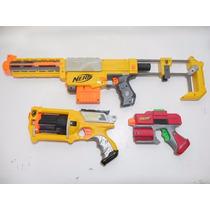 Lote 3 Pistolas Nerf Maveric Recon Cs-6 E220