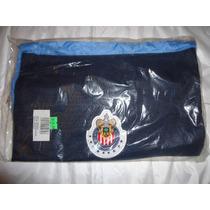 Morral Chivas Del Guadalajara Marca Reebok, Color Azul