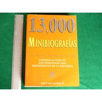 José Luis Garibay E., 13,000 Minibiografías, Grupo Editorial