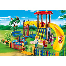 Playmobil 5568 Zona De Juegos Infantil Diversion Retromex