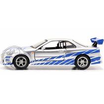 Jada Nissan Skyline 1/32 Rapido Y Furioso Fast & Furious