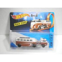 Hot Wheels Track Stars City Trailer Hauler Custom Volkswagen